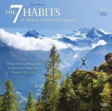 7 Habits of Highly Effective People, the 2019 Square Wall Calendar, Calendar Book