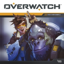 Overwatch 2019 Square Wall Calendar, Calendar Book