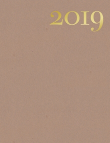 Letters & Paper 2019 Desk Planner, Diary Book