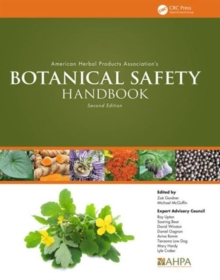 American Herbal Products Association's Botanical Safety Handbook, Second Edition, Hardback Book
