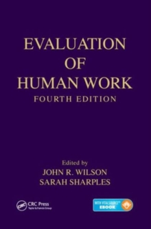 Evaluation of Human Work, Mixed media product Book