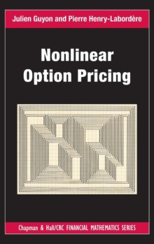 Nonlinear Option Pricing, Hardback Book