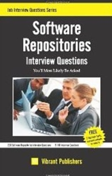 Software Repositories : Interview Questions You'll Most Likely Be Asked, Paperback / softback Book