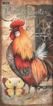 PROUD ROOSTER VERTICAL W DLX,  Book