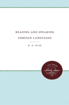 Reading and Speaking Foreign Languages, Paperback / softback Book