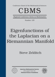 Eigenfunctions of the Laplacian on a Riemannian Manifold, Paperback / softback Book
