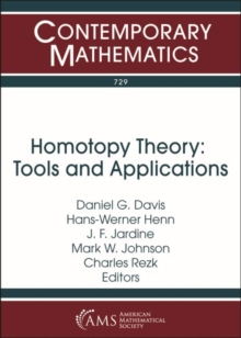 Homotopy Theory : Tools and Applications, Paperback / softback Book