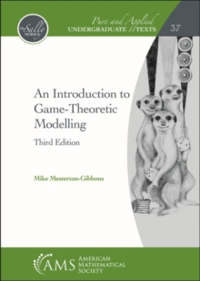 An Introduction to Game-Theoretic Modelling, Hardback Book
