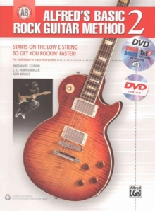 ALFREDS BASIC ROCK GUITAR METHOD BK DVD, Paperback Book