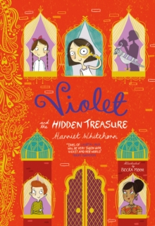 Violet and the Hidden Treasure, Paperback Book