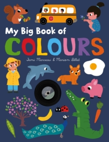 My Big Book of Colours, Board book Book