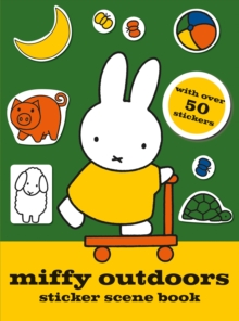Miffy Outdoors Sticker Scene Book, Paperback Book