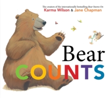 Bear Counts, Paperback Book