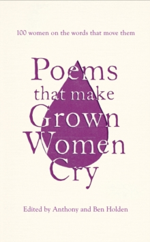 Poems That Make Grown Women Cry, Hardback Book