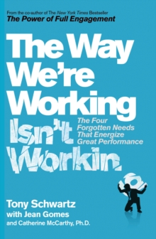 The Way We're Working Isn't Working, Paperback / softback Book