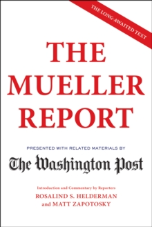 The Mueller Report, Paperback / softback Book