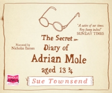 The Secret Diary of Adrian Mole, Aged 13 3/4, CD-Audio Book
