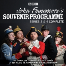 John Finnemore's Souvenir Programme : The Complete Series 3 & 4, CD-Audio Book