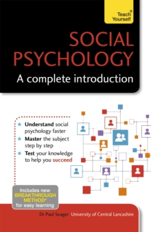 Social Psychology: A Complete Introduction: Teach Yourself, Paperback / softback Book