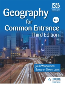 Geography for Common Entrance Third Edition, Paperback Book