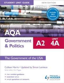 AQA A2 Government & Politics Student Unit Guide New Edition: Unit 4A The Government of the USA Updated, Paperback Book