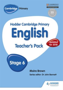 Hodder Cambridge Primary English: Teacher's Pack Stage 6, Paperback / softback Book