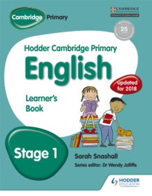 Hodder Cambridge Primary English: Learner's Book Stage 1, Paperback / softback Book