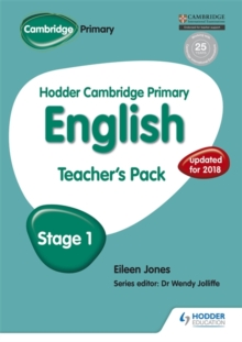 Hodder Cambridge Primary English: Teacher's Pack Stage 1, Paperback / softback Book