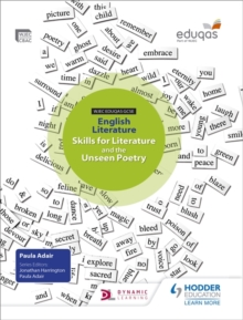 WJEC Eduqas GCSE English Literature Skills for Literature and the Unseen Poetry Student Book, Paperback Book