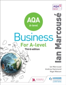 AQA Business for A Level (Marcouse), Paperback Book
