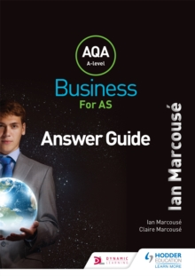 AQA Business for AS (Marcouse) Answer Guide, Paperback / softback Book