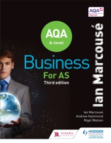AQA Business for AS (Marcouse), Paperback Book