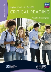 Higher English for CfE : Critical Reading, Paperback Book