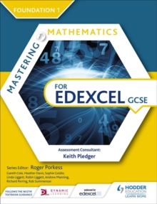 Mastering Mathematics for Edexcel GCSE: Foundation 1, Paperback / softback Book