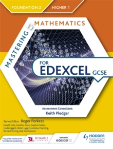 Mastering Mathematics for Edexcel GCSE: Foundation 2/Higher 1, Paperback / softback Book