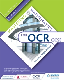 Mastering Mathematics for OCR GCSE: Foundation 2/Higher 1, Paperback / softback Book