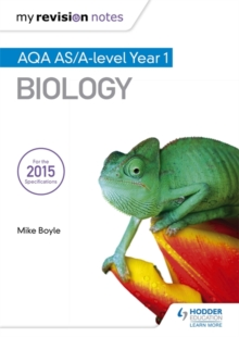 My Revision Notes: AQA AS Biology Second Edition, Paperback Book