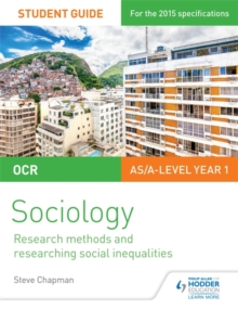 OCR A Level Sociology Student Guide 2: Researching and understanding social inequalities, Paperback Book