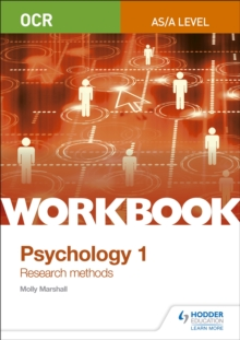 OCR Psychology for A Level Workbook 1 : Component 1: Research Methods, Paperback Book