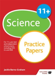 11+ Science Practice Papers : For 11+, Pre-Test and Independent School Exams Including CEM, GL and ISEB, Paperback Book