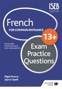 French for Common Entrance 13+ Exam Practice Questions, Paperback / softback Book