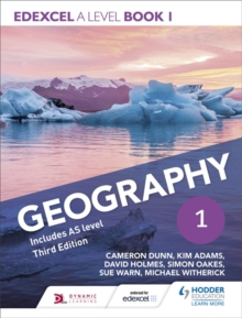 Edexcel A level Geography Book 1 Third Edition, Paperback Book
