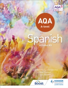 AQA A-level Spanish (includes AS), Paperback / softback Book
