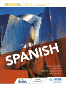 Edexcel A level Spanish (includes AS), Paperback / softback Book