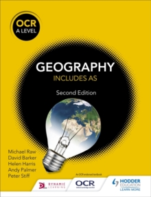 OCR A Level Geography Second Edition, Paperback Book