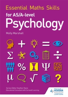 Essential Maths Skills for AS/A Level Psychology, Paperback / softback Book