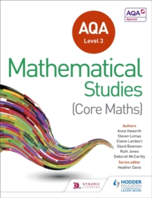 AQA Level 3 Certificate in Mathematical Studies, Paperback Book