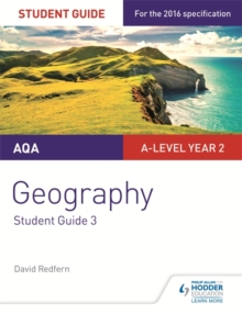 AQA A-level Geography Student Guide 3: Hazards; Population and the Environment, Paperback / softback Book
