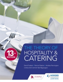 The Theory of Hospitality and Catering Thirteenth Edition, Paperback Book