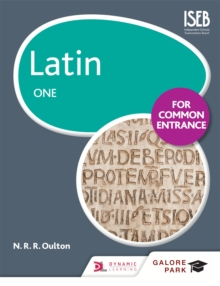 Latin for Common Entrance One, Paperback / softback Book